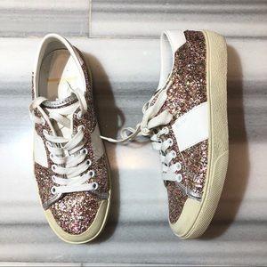 Saint Laurent glitter sneakers
